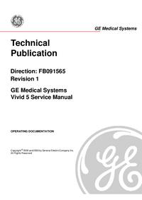 Manual de servicio GEMedical Vivid 5