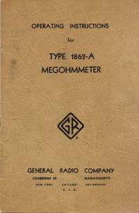 Serwis i User Manual GR 1862-A