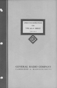 Manual do Usuário GR 625-A