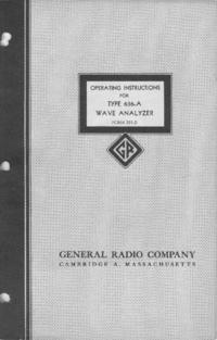 Serviço e Manual do Usuário GR 636-A