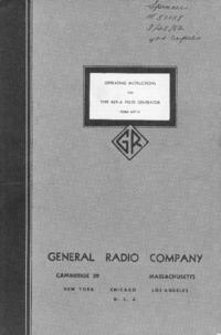 Serviço e Manual do Usuário GR 869-A