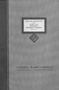 Serviço e Manual do Usuário GR C-10-H