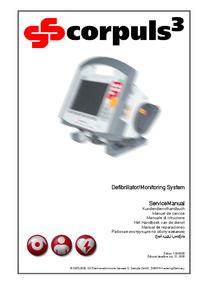 manuel de réparation GSElektromedizinischeG GS corplus 3