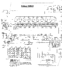 Cirquit diagramu Galaxy 2000B