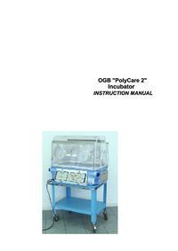 Manual do Usuário Ginevri OGB Polycare 2