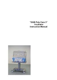 Instrukcja obsługi Ginevri OGB Polycare 3