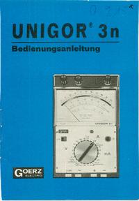GoeurzElectro Unigor 3N