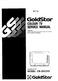 Manual de servicio Goldstar CB-25C20X