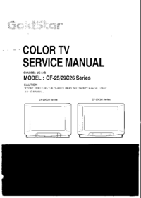 Manual de servicio Goldstar MC-51B