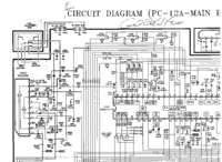 Diagrama cirquit Goldstar PC-12A