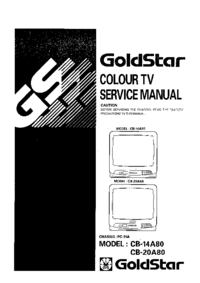 Manual de servicio Goldstar CB-14A80