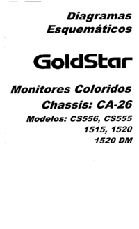Cirquit Diagram Goldstar 1520