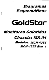 Cirquit diagramu Goldstar MCH-4255