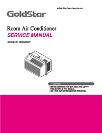 Service Manual Goldstar WG5005R