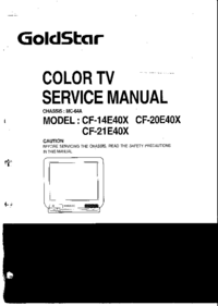 Manual de servicio Goldstar MC-64A