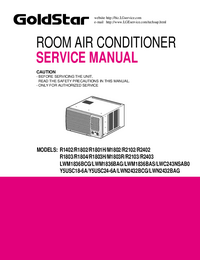 Service Manual Goldstar LWC243NSAB0