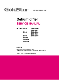 Manual de servicio Goldstar DHE-4031