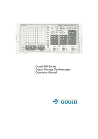 Manual del usuario Gould 400 series