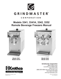 Serwis i User Manual Grindmaster 3352