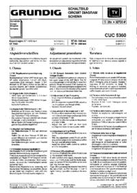 Schaltplan Grundig ST 70-650 text