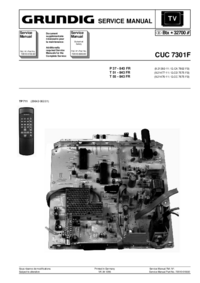 Service Manual Grundig T 51 - 843 FR