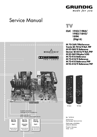 Service Manual Grundig M 82-269 PALplus/LOG