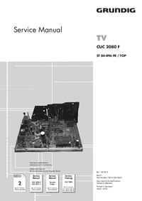 Service Manual Supplement Grundig ST 84-896 FR / TOP