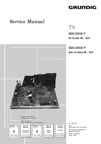Service Manual Supplement Grundig ST 70-860 FR / TOP