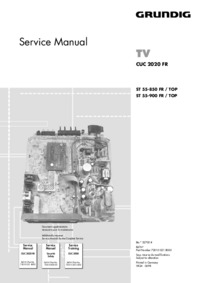 Service Manual Grundig ST 55-850 FR / TOP