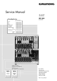 Instrukcja serwisowa Grundig STC 332