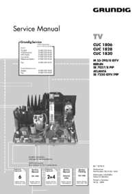 Service Manual Supplement Grundig M 55-290/8 IDTV