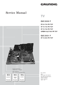 Service Manual Grundig ST 70-700 FR / TOP
