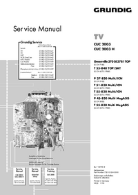Service Manual Grundig Greenville 370 SE 3781 TOP