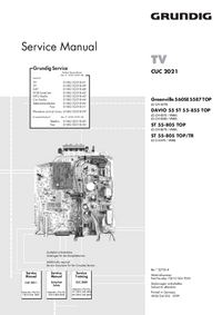 Manual de servicio Grundig DAVIO 55 ST 55-855 TOP