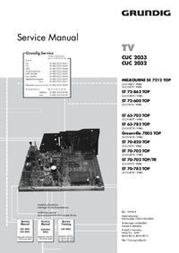 Service Manual Grundig MELBOURNE SE 7212 TOP