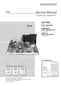 Instrukcja serwisowa Grundig DAVIO 70 ST 70 – 5001 DOLBY