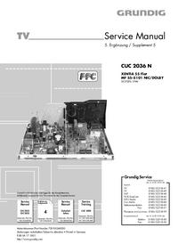 Servicehandboek Grundig CUC 2036 N