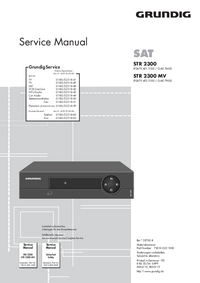 Service Manual Grundig STR 2300 MV