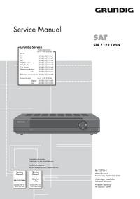 Instrukcja serwisowa Grundig STR 7122 TWIN