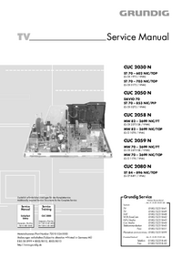 Service Manual Grundig MW 70 – 2699 NIC/TOP