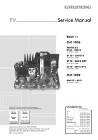 Service Manual Grundig ST 70 – 250 IDTV