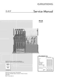 Manual de servicio Grundig STC 50