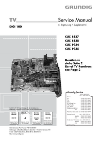 Service Manual Grundig SEDANCE 70 ST 70-285/8 DOLBY