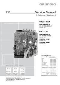 Service Manual Supplement Grundig MF 55-9201 DOLBY
