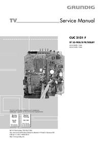 Руководство по техническому обслуживанию Grundig ST 55-908/8 FR/DOLB