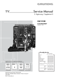 Service Manual Supplement Grundig ST 70-929 DOLBY
