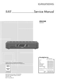 Service Manual Grundig STR 8150