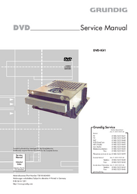 Manual de servicio Grundig DVD-Kit1