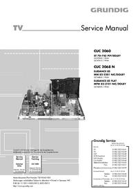 Service Manual Grundig CUC 2068 N
