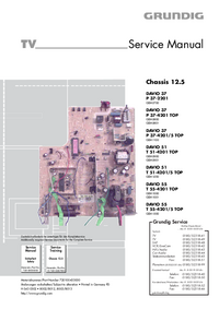 Service Manual Grundig T 55-4201 TOP